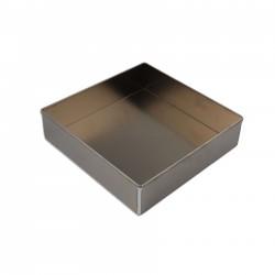 Tortiera quadrata alluminio cm 18 x 18 - h 7