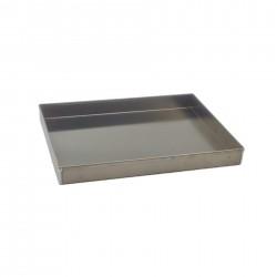 Teglia in alluminio cm 24 x 34 h 5