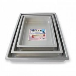 Tortiera rettangolare cm 23x33 - alluminio