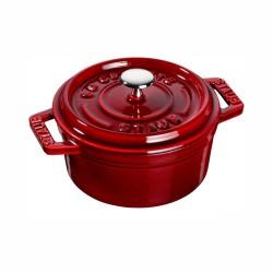 Mini cocotte in ghisa rosso granato - ø cm 10 - staub