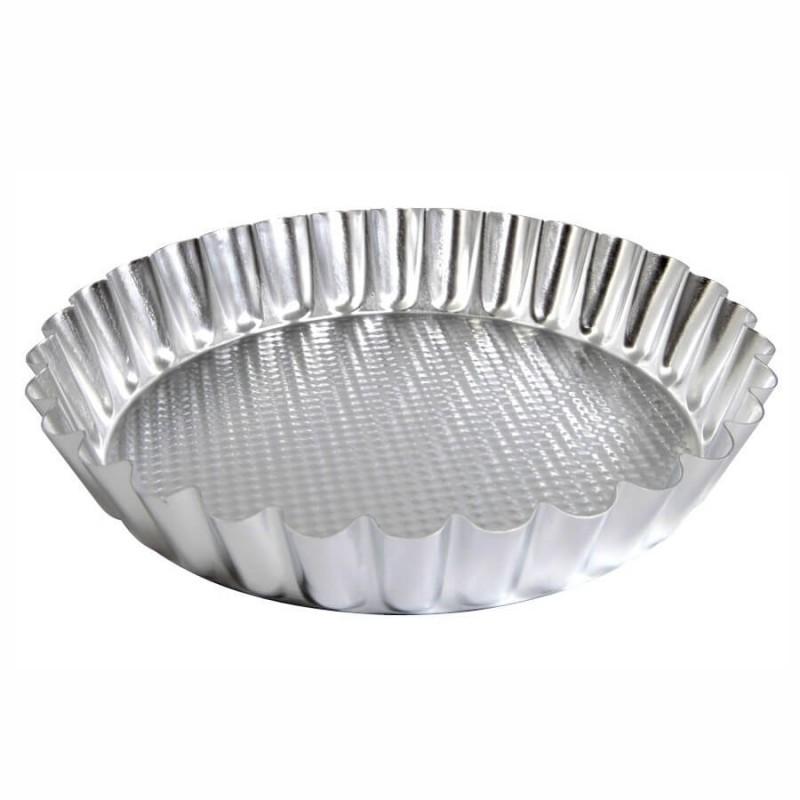 Crostata festonata alta ø cm 28 alluminio