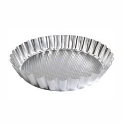 Crostata festonata alta ø cm 25 alluminio