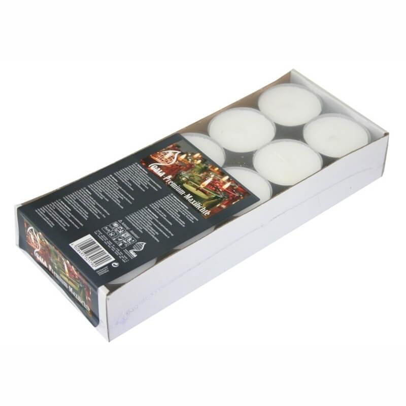 Candeline tea light ø cm 6 - 20 pz