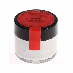 White perlescente - glitter alimentare in pasta - 20 gr
