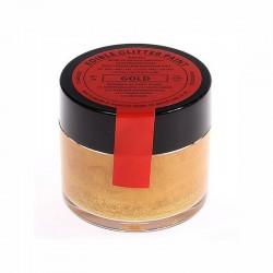 Oro perlescente - glitter alimentare in pasta - 20 gr