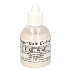 Bianco perla white alimentare per aerografo 60 ml