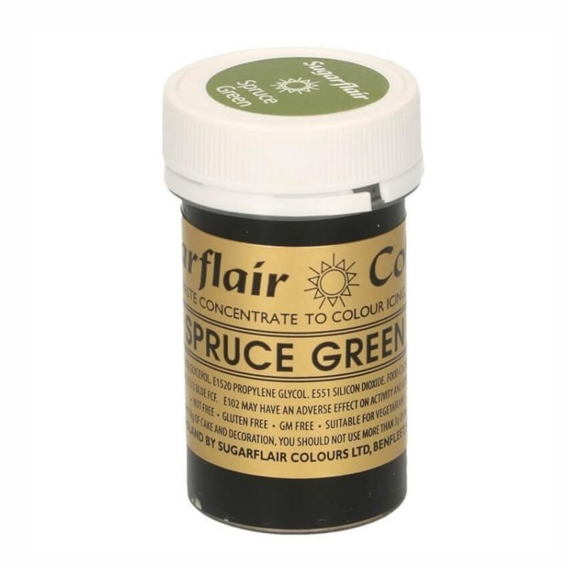 Verde Abete rosso Spruce green alimentare pasta concentrata