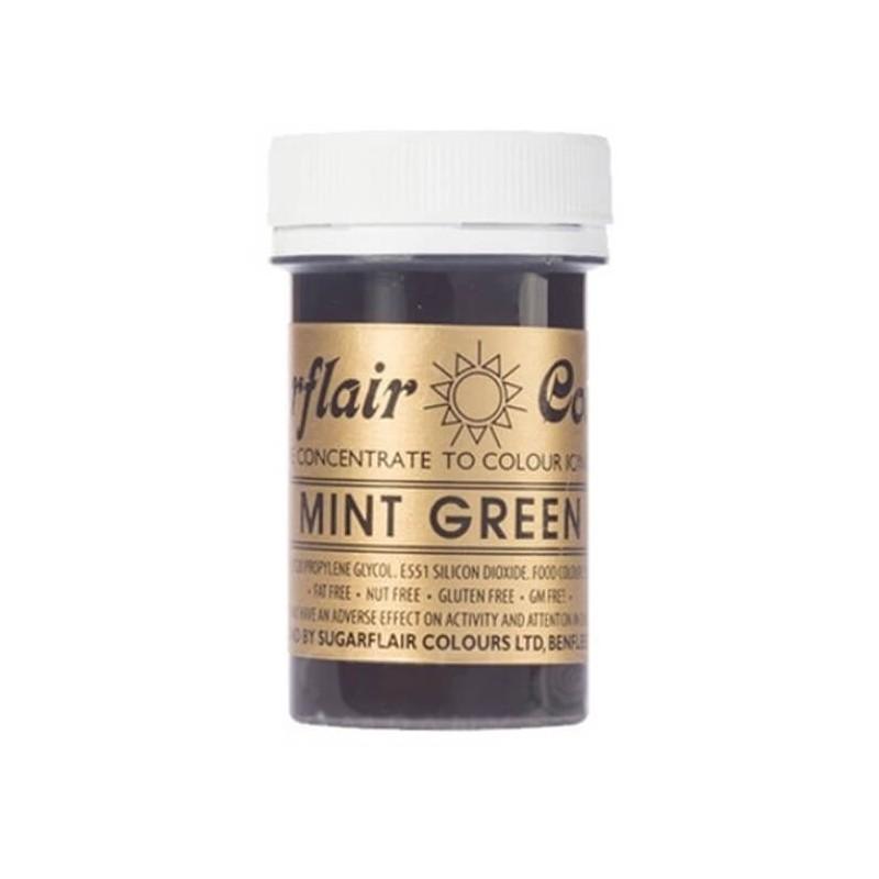 Verde Menta Mint green alimentare pasta concentrata