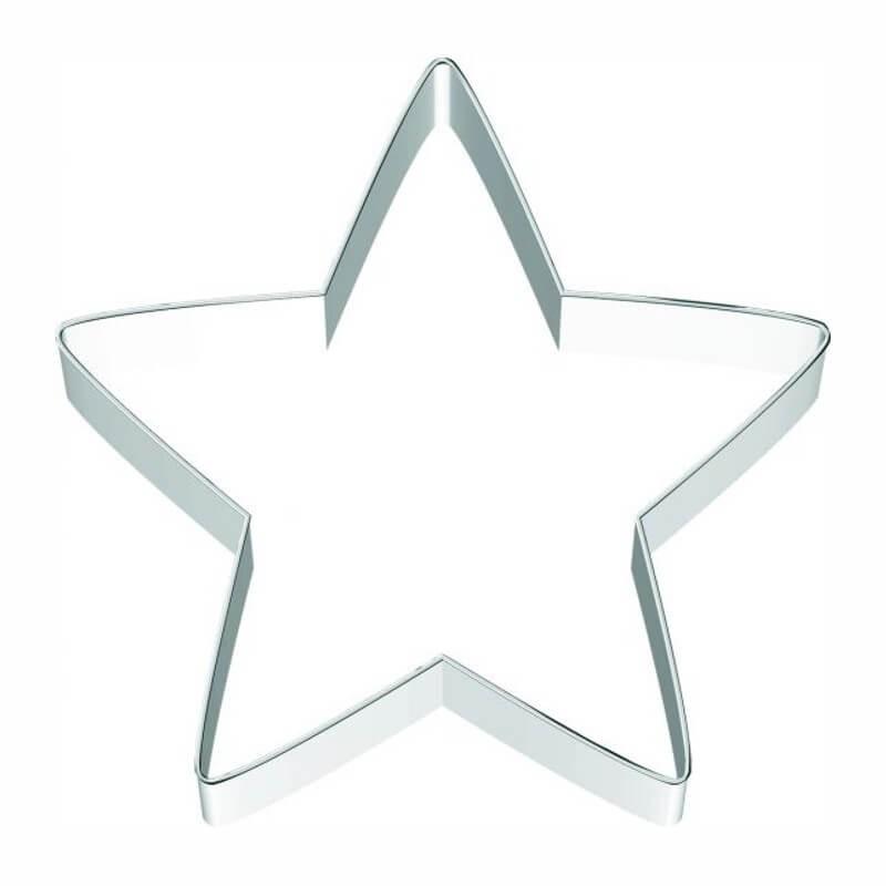 Stella 5 punte tagliapasta ø cm 11 - inox