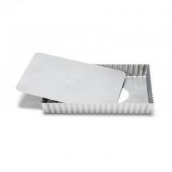 Crostata antiaderente fondo sollevabile cm 21x21