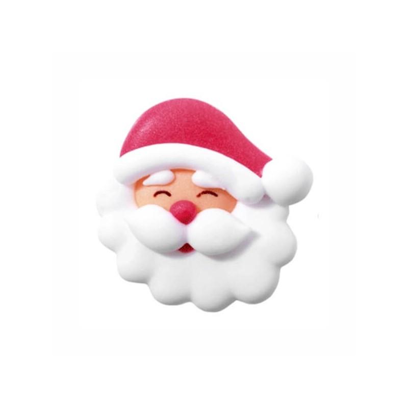 Babbo Natale decorazioni in zucchero