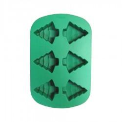 Multiporzione 6 cavità Albero di Natale - silicone