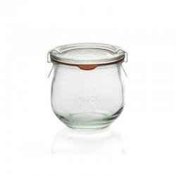Barattolo in vetro per sterilizzare Tulpen corolle Weck 370 ml