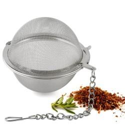 Sfera in rete inox per spezie ed aromi ø cm 15