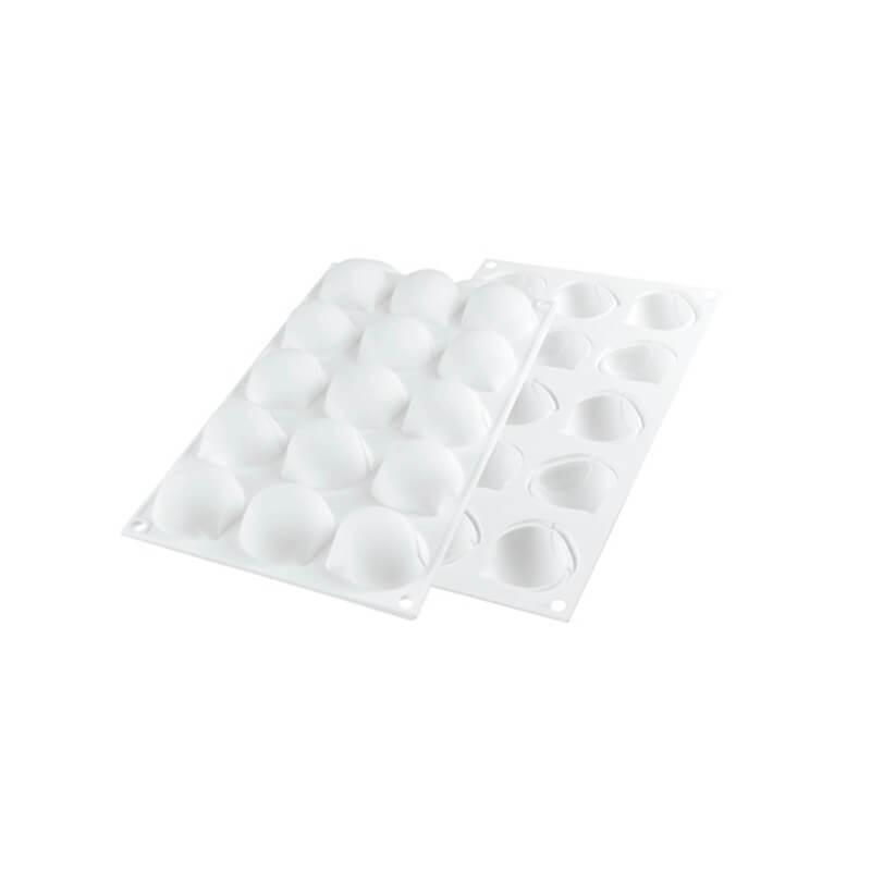 Marron glacé 30 - 15 cavità - Silikomart