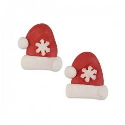 Cappelli babbo Natale - 2 pz