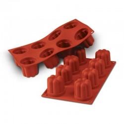 Mini Bavarese in silicone  - 8 cavità