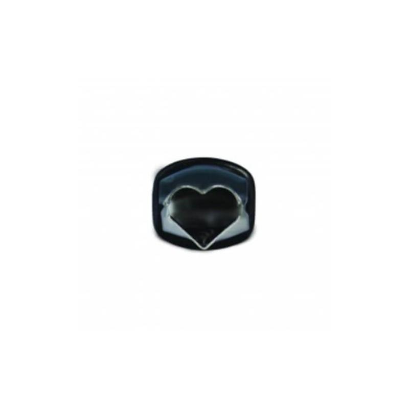 Pinza decoro cuore mm 18