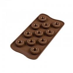 Stampo cioccolato 11 Crown EasyChoc Silikomart