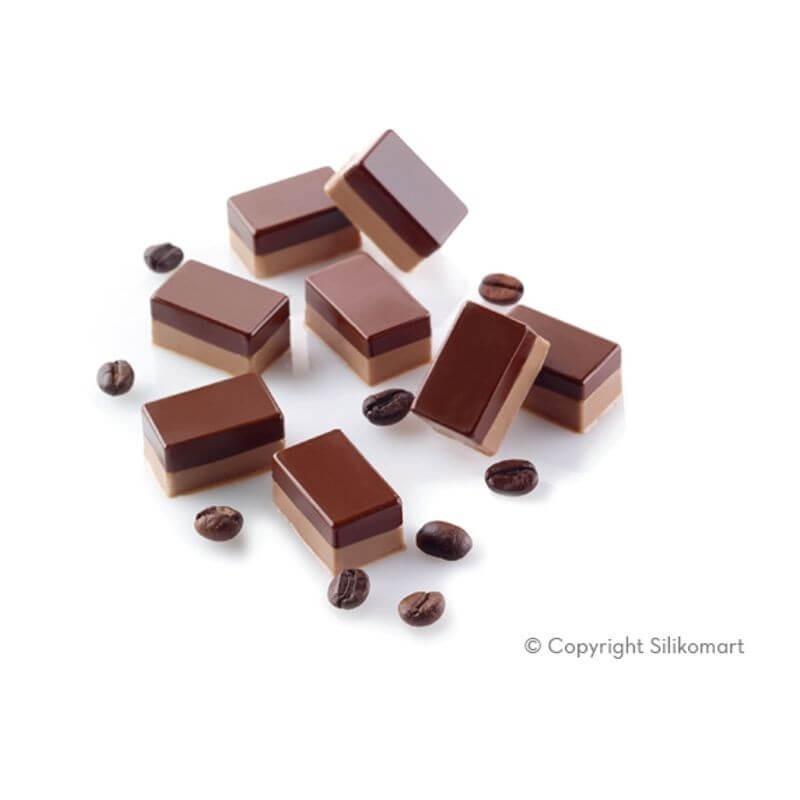 Micro Rectangles 5 in silicone 56 cavità - Silikomart