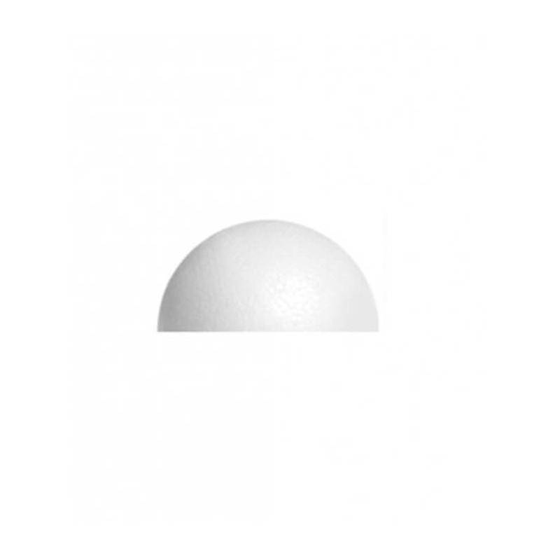 Semisfera in polistirolo ø cm 10