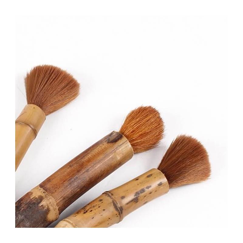 Pennello in bambù e setole naturali