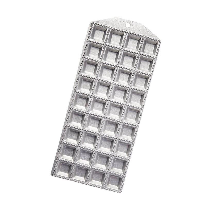 Tavola in alluminio per ravioli - 36 impronte