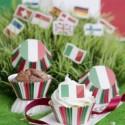 Pirottini muffin ø cm 5 Italia - 50 pezzi