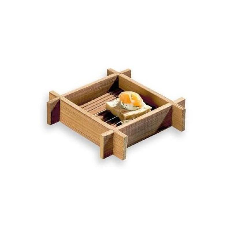 Zattera quadrata Hanako in bambù