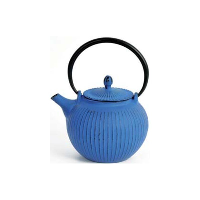 Teiera in ghisa blu oolong ml 600