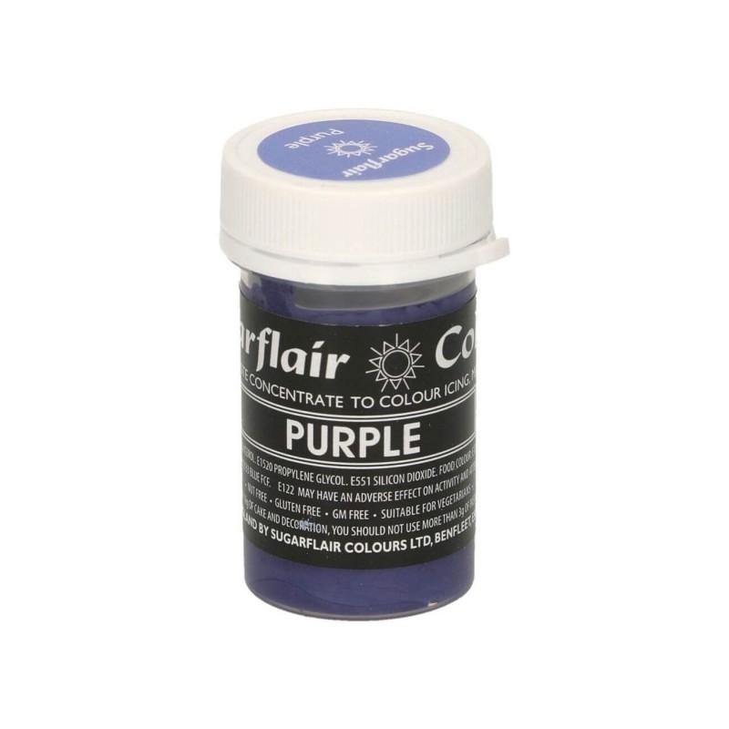 Purple porpora alimentare pasta concentrata
