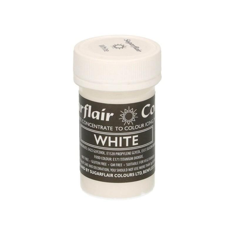 Bianco pastello alimentare pasta concentrata