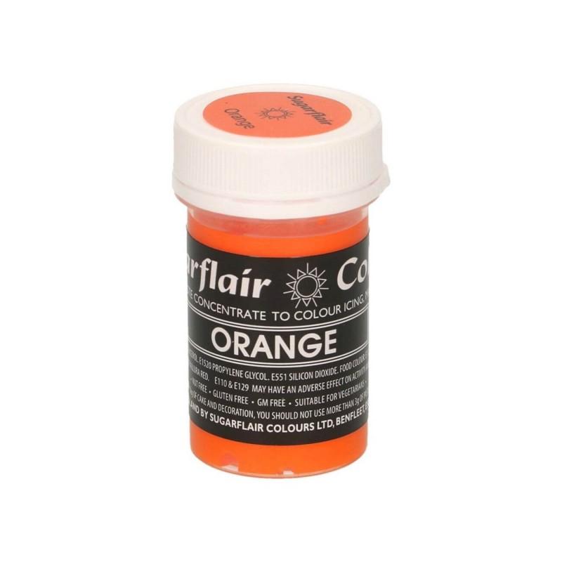 Orange arancio pastello alimentare pasta concentrata