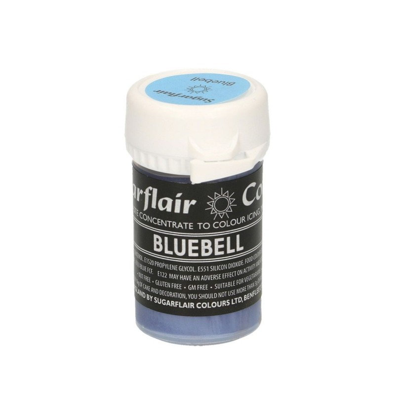 Bluebell pastel alimentare pasta concentrata