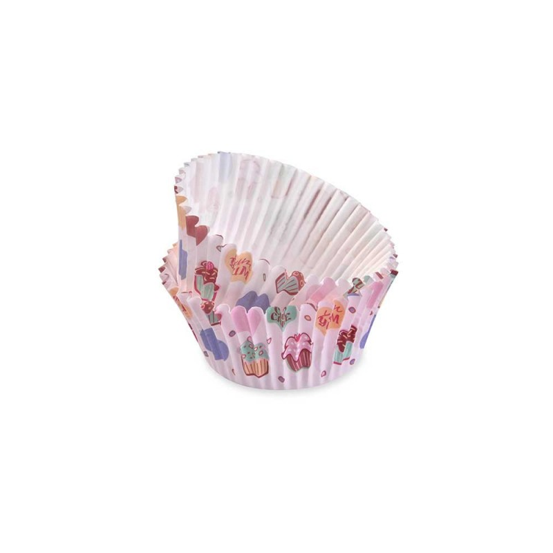 Pirottini grease proof cupcake - 50 pz