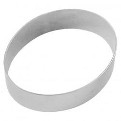 Anello / coppapasta inox ovale mm 75 / mm 35
