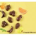Stampo cioccolato Choco Fruits EasyChoc Silikomart