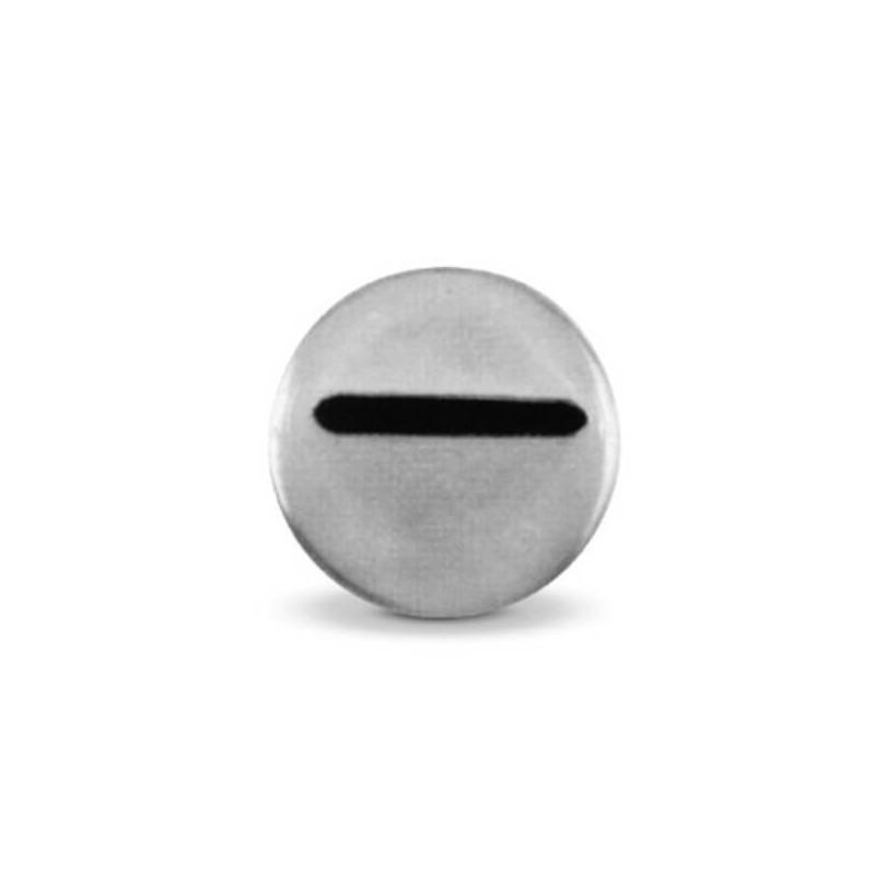 Beccuccio inox Nastro mm 7