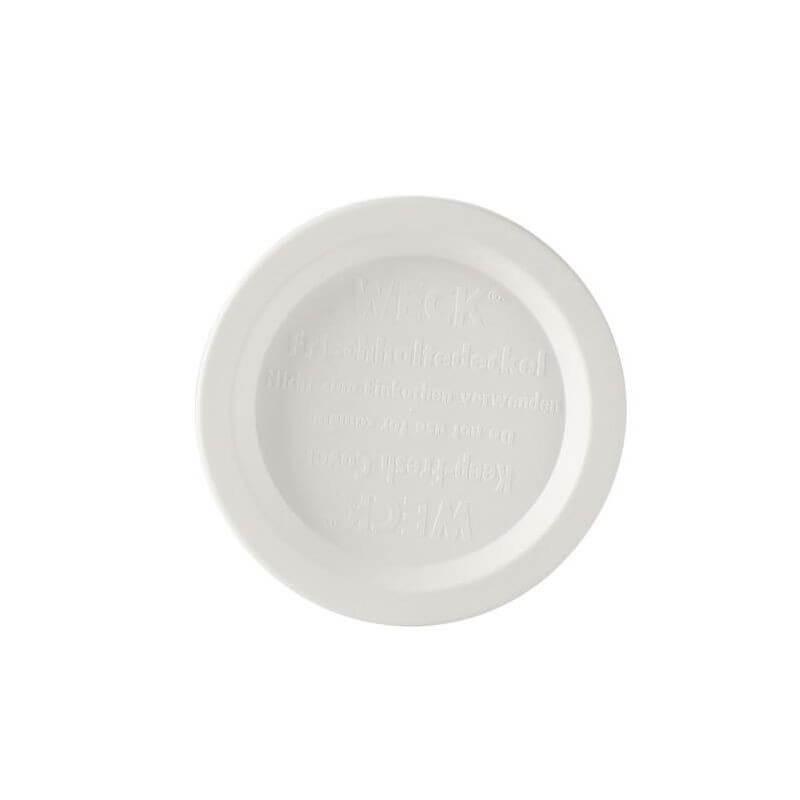 Coperchio bianco Weck ø cm 10 - pz 5