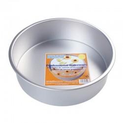 Tortiera cilindrica in alluminio ø 25 - h cm 5