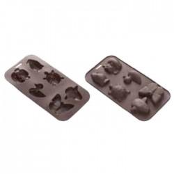 Cioccorelle Animali Safari - Formine in silicone
