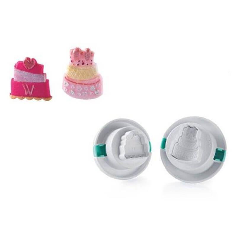Wonder Cutter mini cakes - Silikomart