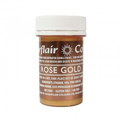 Rose gold alimentare in pasta concentrata g 20