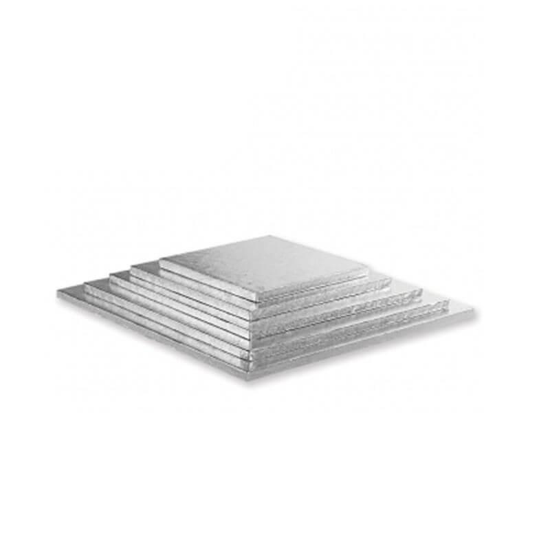 Base quadrata per torta cm 55x55 - h mm 12