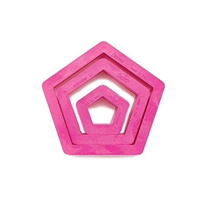 Pentagono tagliapasta set 3 pezzi