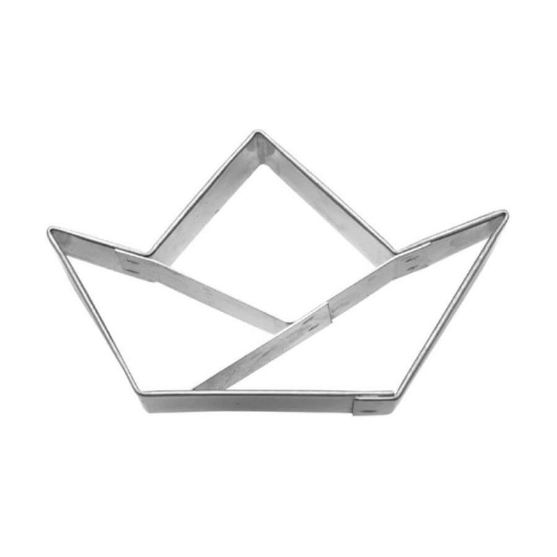 Barchetta origami cm 6 tagliabiscotti inox