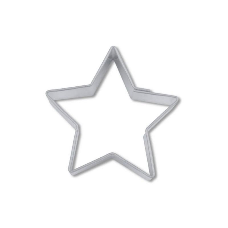 Stella 5 punte tagliapasta ø cm 4 - inox