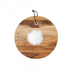Tagliere tondo in legno di acacia cm 28