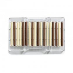 Stampo in PC per cioccolato sigari