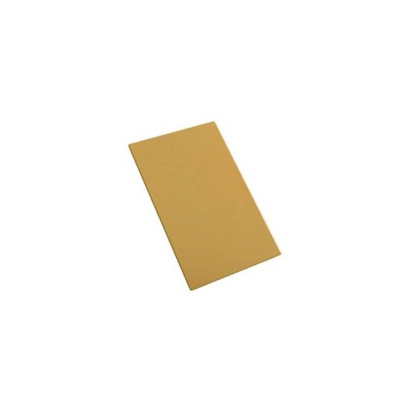 Sotto pasta oro rettangolo cm 13x5 - 10 pz